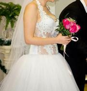 свадебное платье ( прокат )