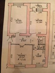 Продаётся 3-комнатная квартира в центре на 1 этаже 5-этажного дома